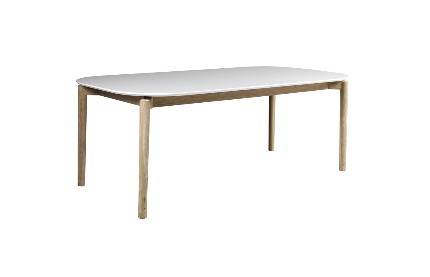 Agnes dining table – white