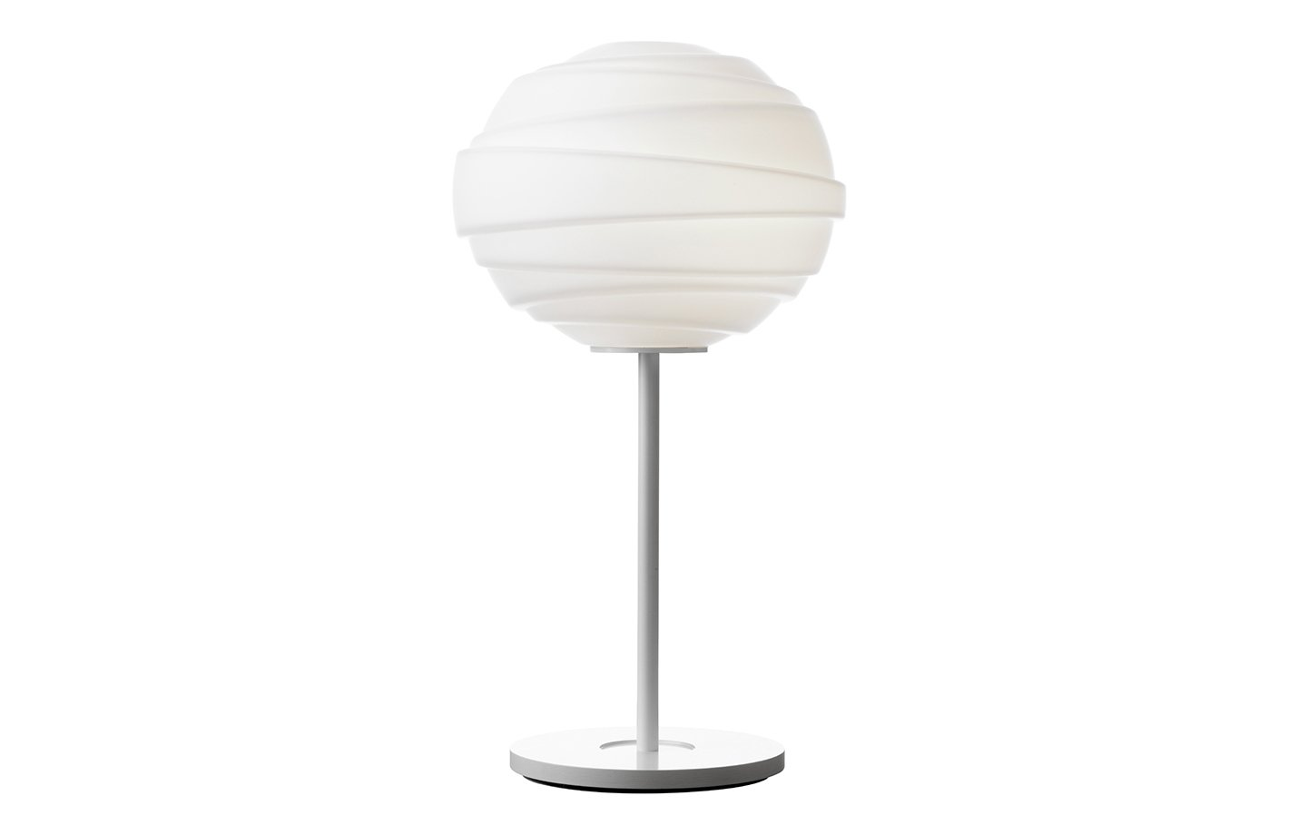Atomheart table lamp opal – white