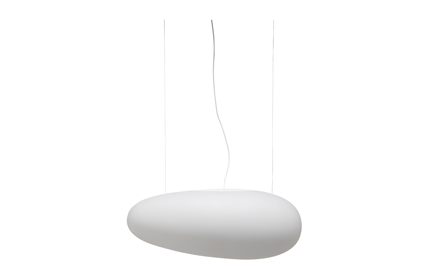 Avion pendant light white