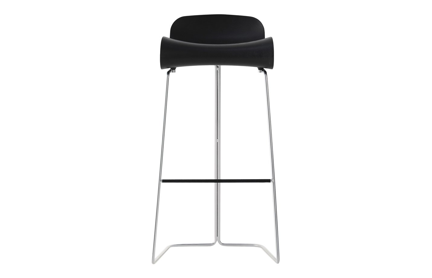 BCN Slide base – bar stool – large – black