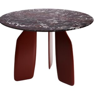 Bavaresk Dining Table - marble - red
