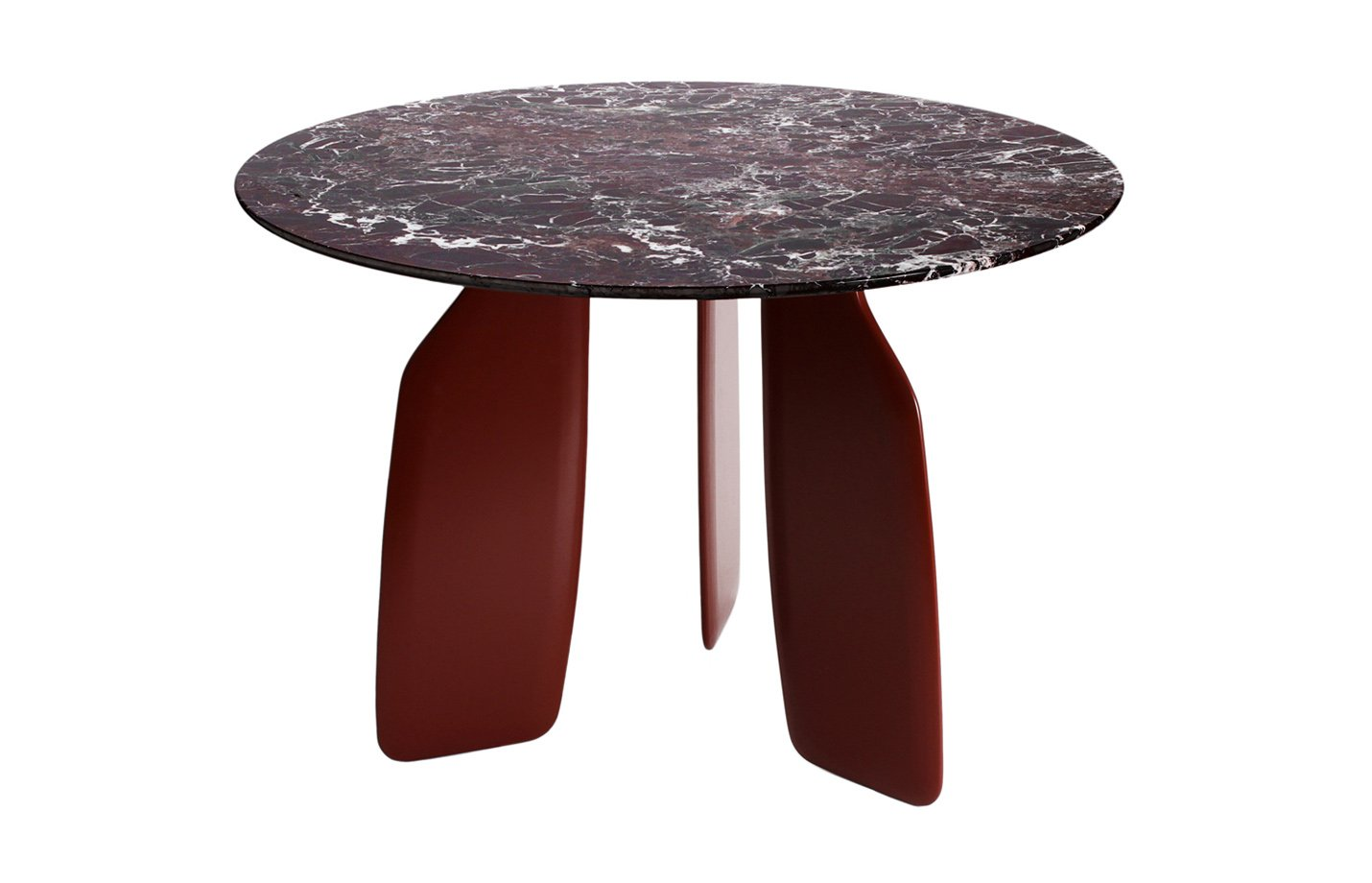 Bavaresk Dining Table – marble – red
