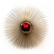 Brilliance-wall-light-red