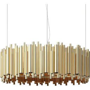 Brubeck chandelier light - Gold