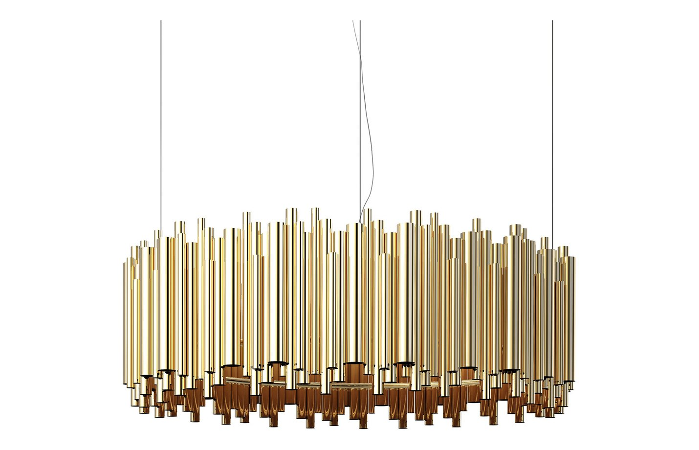 Brubeck chandelier light – Gold