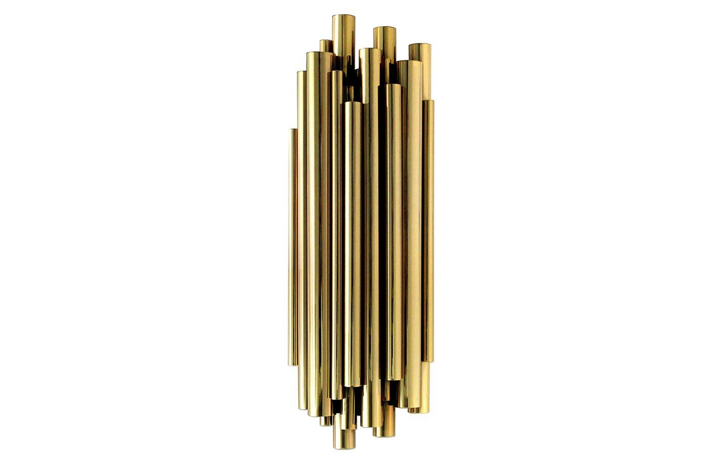 Brubeck wall light – Gold