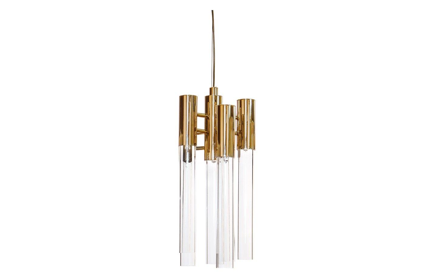Burj pendant light – Gold