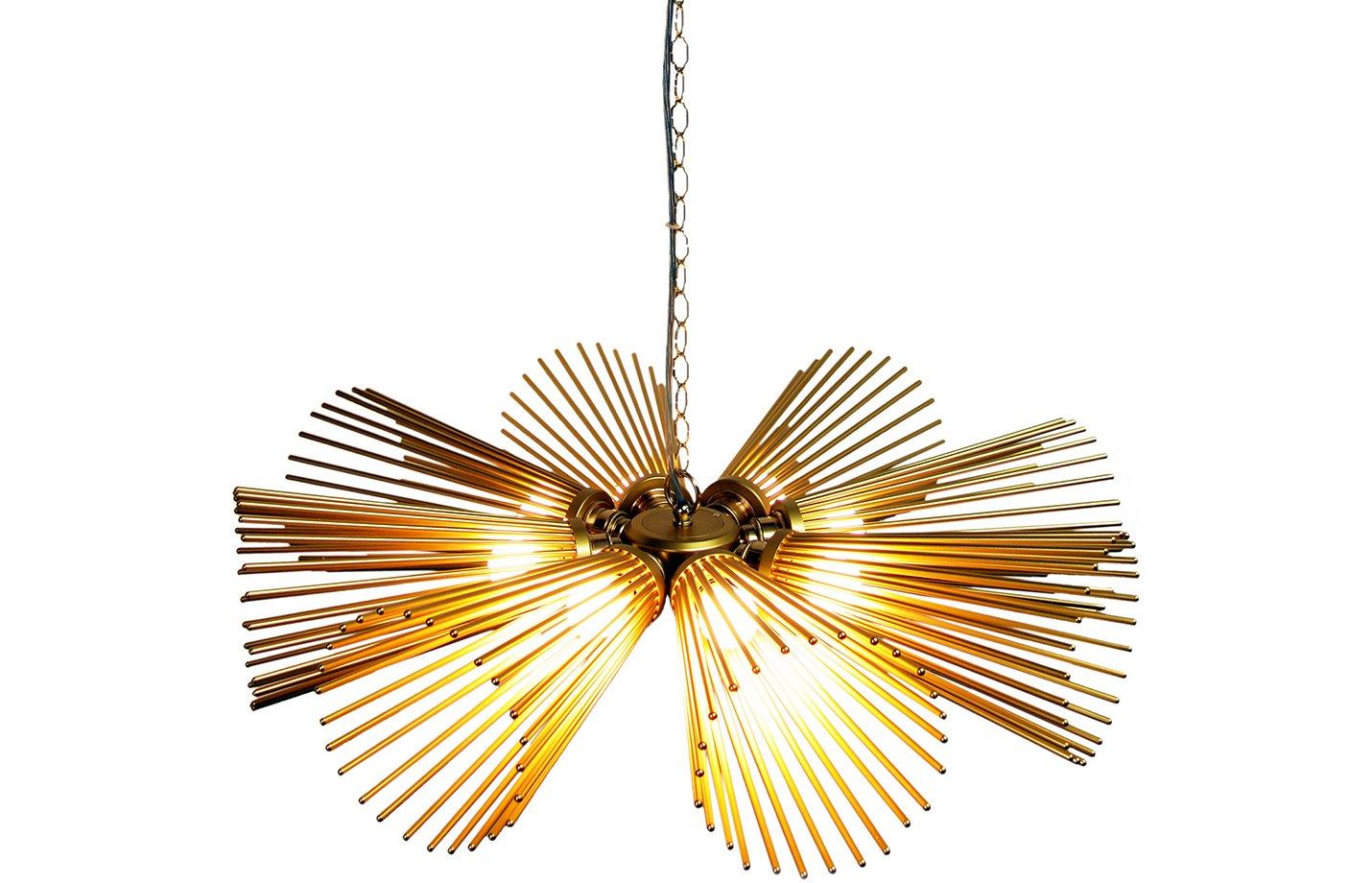 Carina chandelier light – Gold