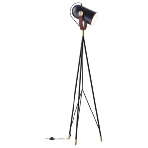 Carronade floor lamp - black - sand