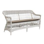 Charlot-three-seater-cushion-Alu-rattan-Vintage-white