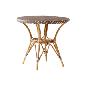 Danielle café table - Rattan - Medium - Cappuccino