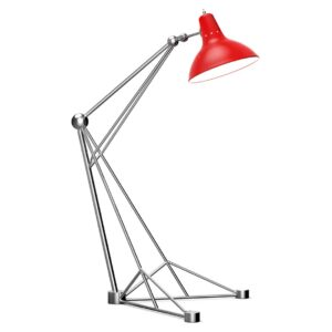 Diana floor lamp - red