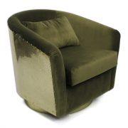 Earth-armchair-velvet-green-side