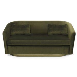 Earth sofa two seater - green