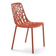 FOREST-chair-Coral-Red