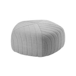 Five pouf - ottoman - light grey