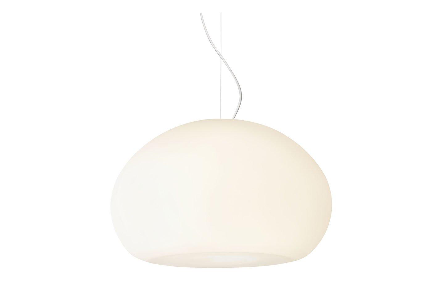 Fluid pendant light – White