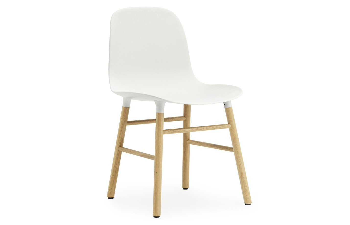 Form chair – oak – white