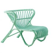 Fox-chair-Lounge-Alu-Rattan-Mint
