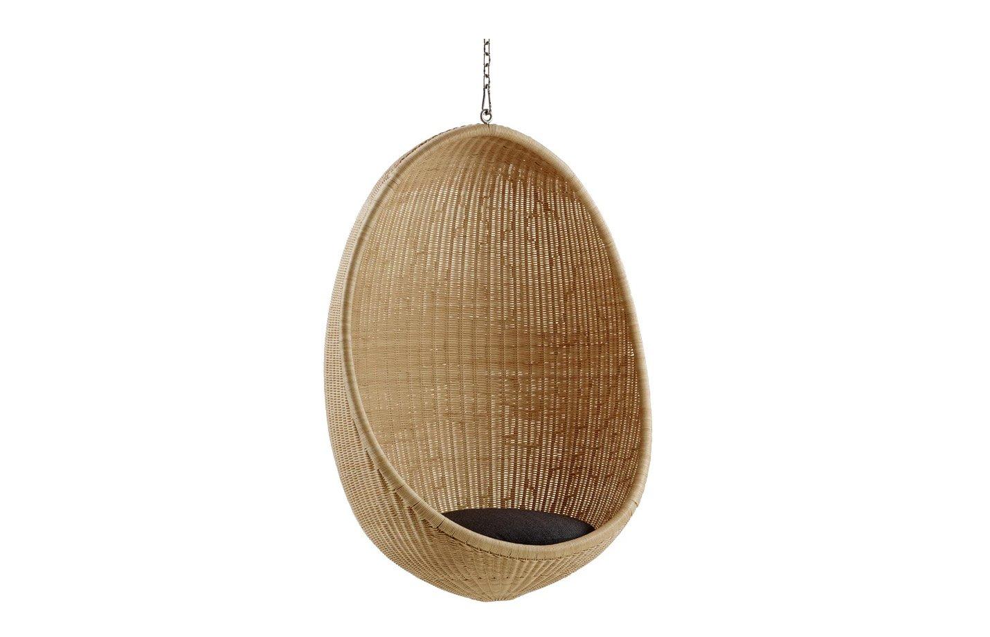 Hanging Egg Chair Rattan Interior By Sika Design Fabiia Com