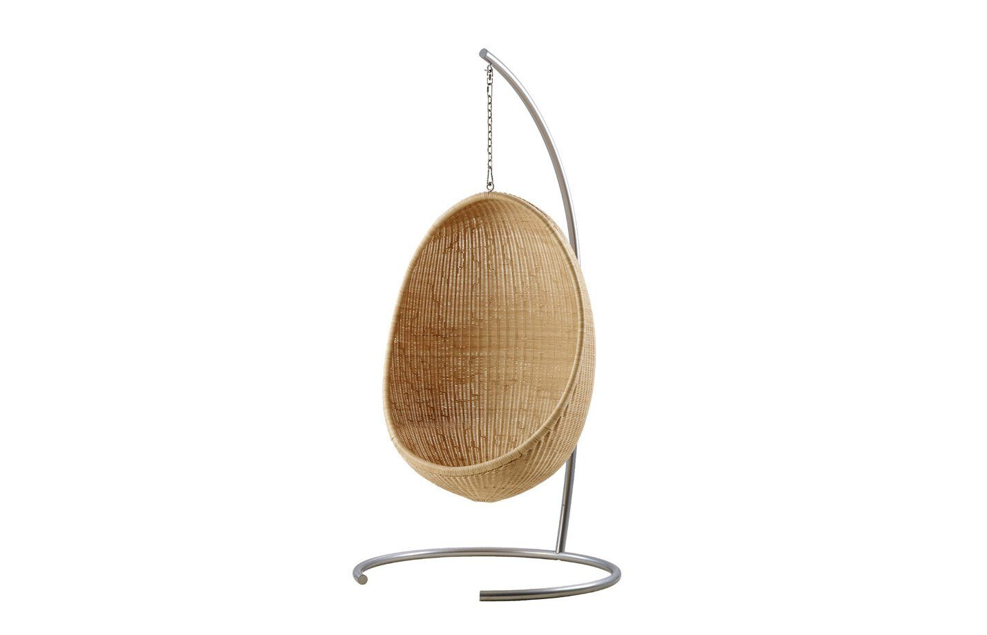 Hanging-Egg-Chair-with-stand-rattan-interior-fabiia
