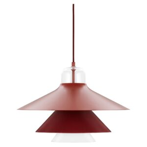 Ikono Lamp Pendant - Large - Red