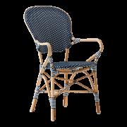 Isabell-chair-armrest-Rattan-blue