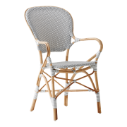 Isabell-chair-armrest-Rattan-grey