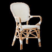 Isabell-chair-armrest-Rattan-white-white