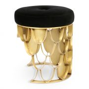 Koi-stool-side-black-gold