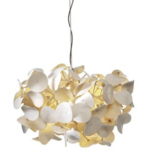 Leaf Lamp Pendant - White