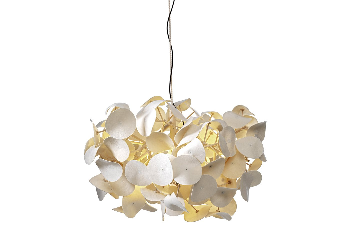 Leaf Lamp Pendant – White