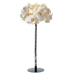 Leaf Tree Floor Lamp - White