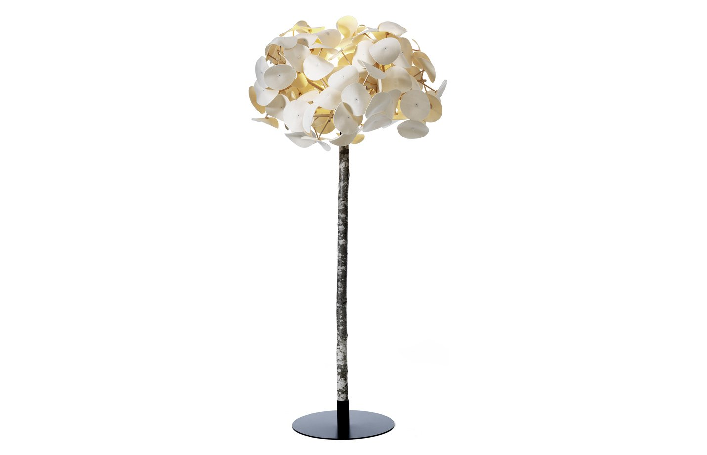 Leaf Tree Floor Lamp – White