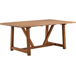 Lucas table - teak - brown