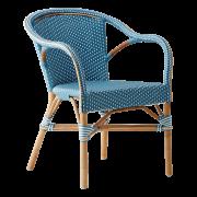 Madeleine-chair-armrest-Rattan-azur-White