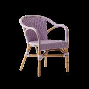 Madeleine-chair-armrest-Rattan-blush-purple