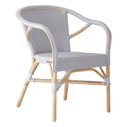 Madeleine-chair-armrest-Rattan-white-Light-grey