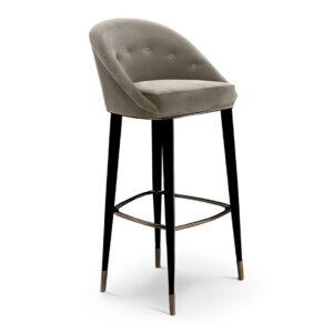 Malay bar chair - beige