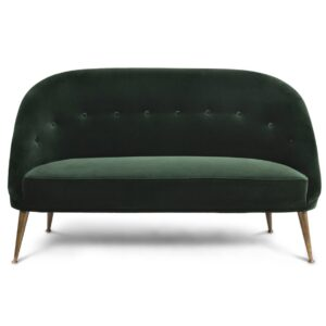 Malay sofa two seater - green