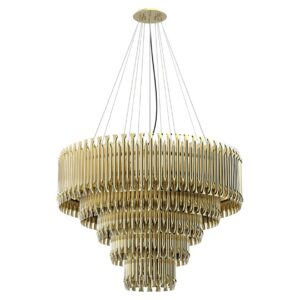 Matheny Chandelier Light - Gold