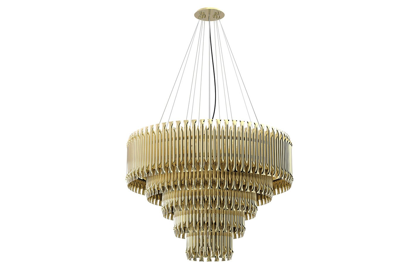 Matheny Chandelier Light – Gold