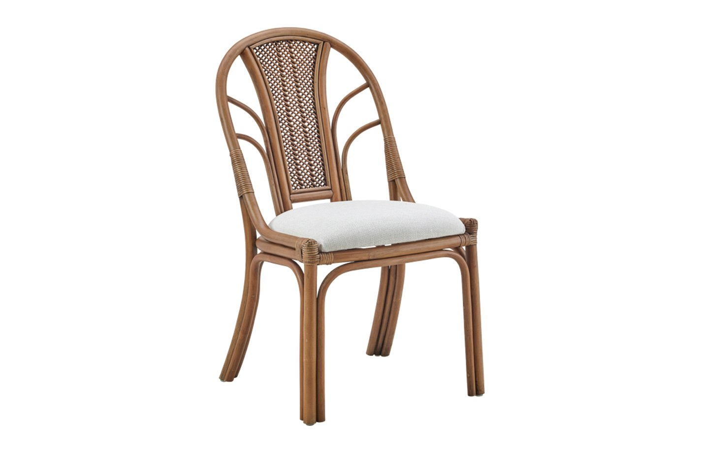 Milano chair – rattan – antique