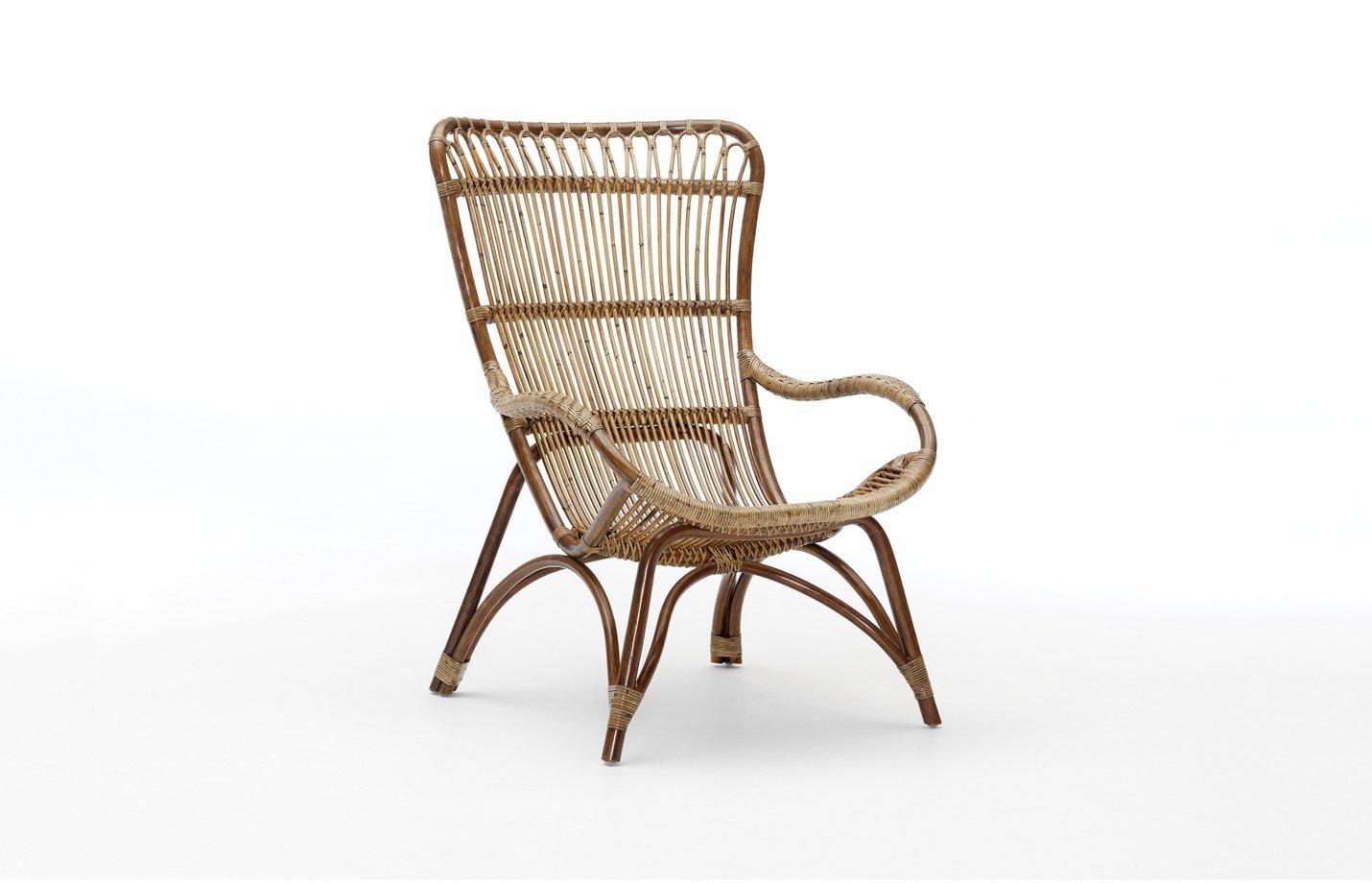Monet chair – rattan – antique