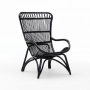 Monet-chair-rattan-black