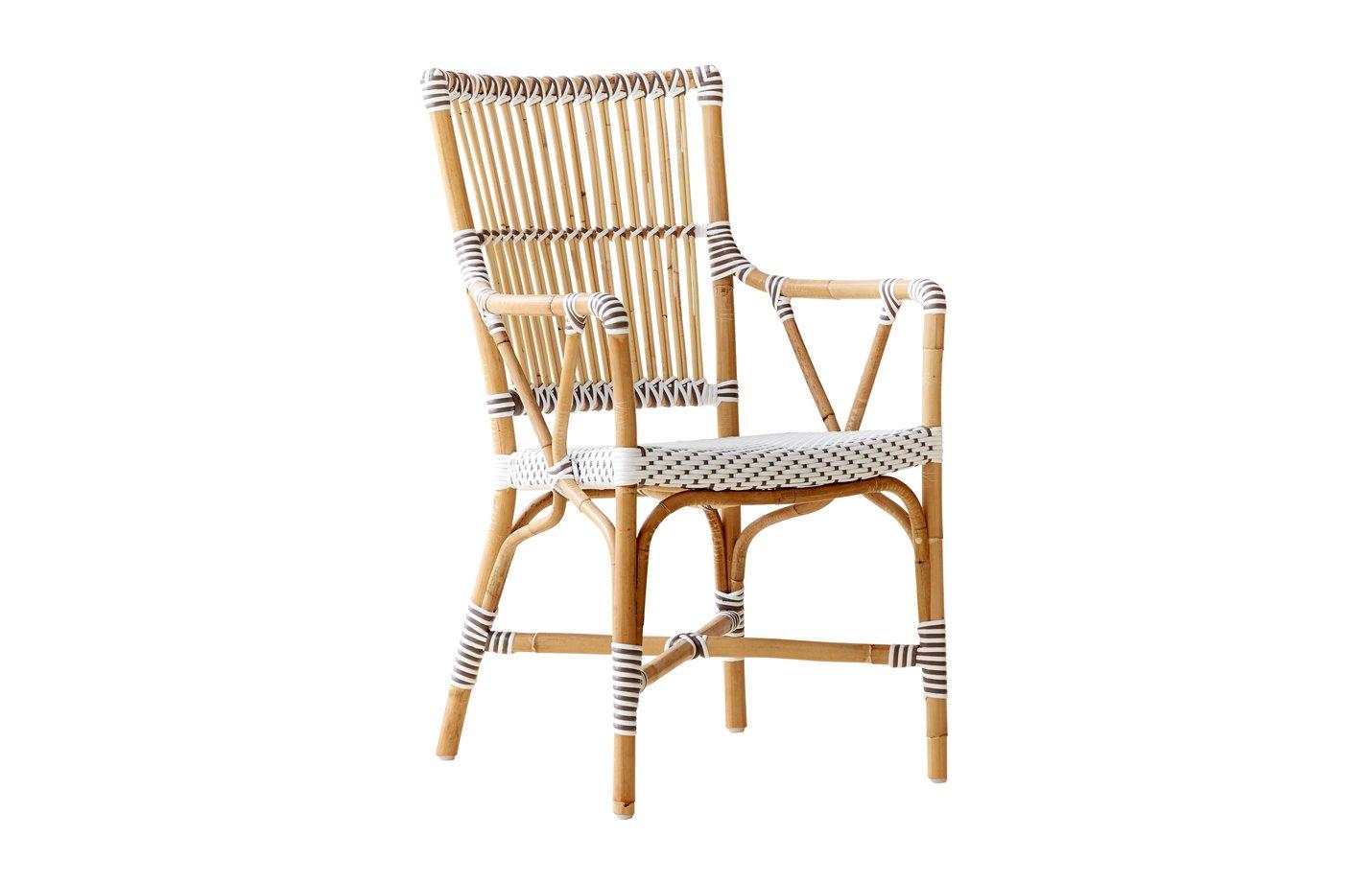 Monique chair armrest – Rattan