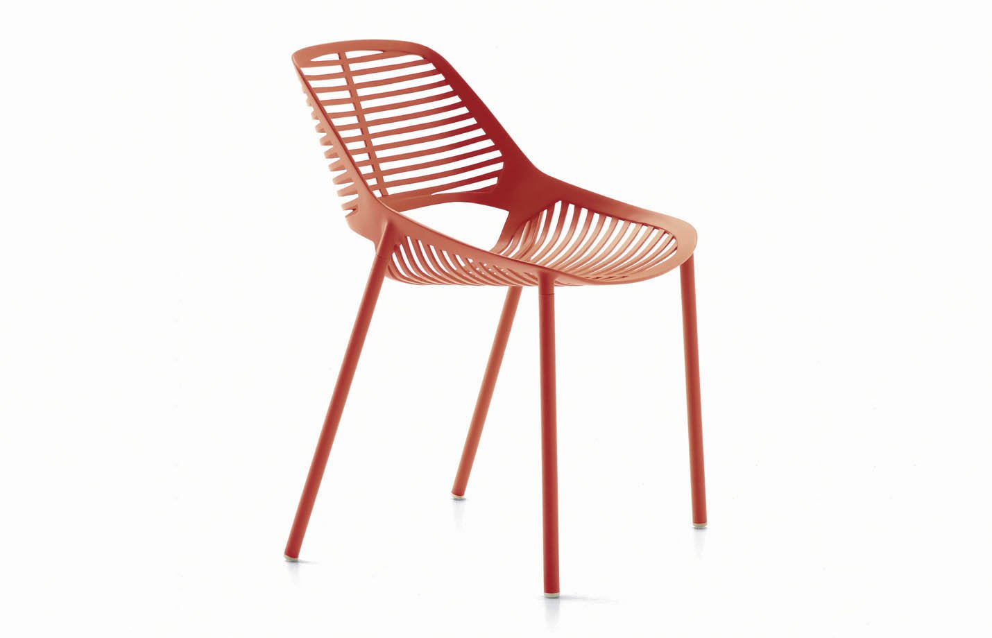 NIWA chair – coral – red
