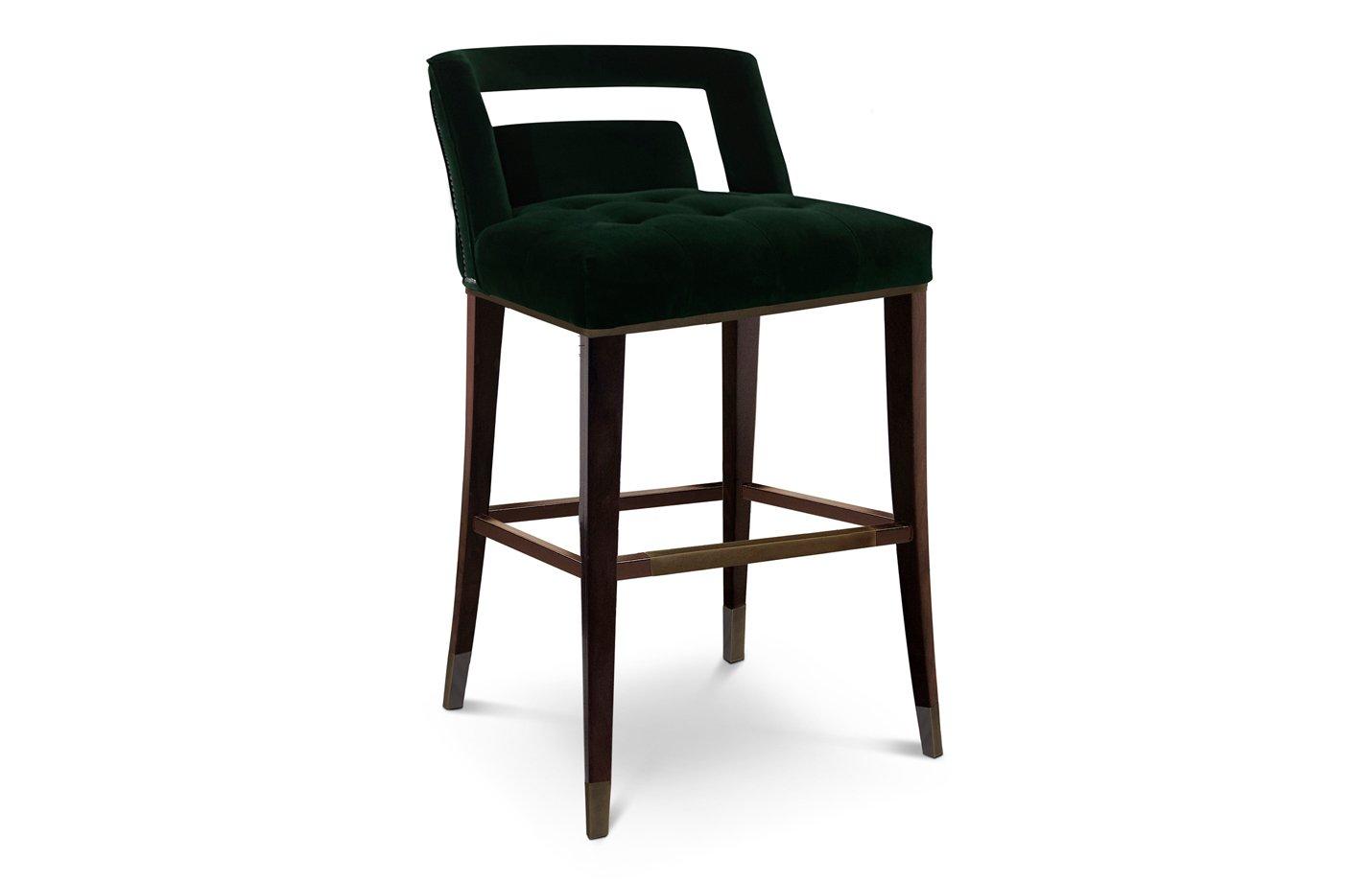 Naj bar chair – Green