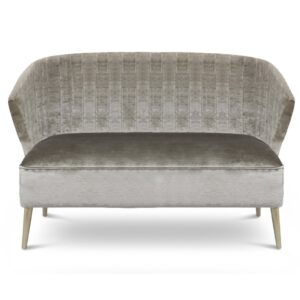 Nuka sofa two seater - light grey