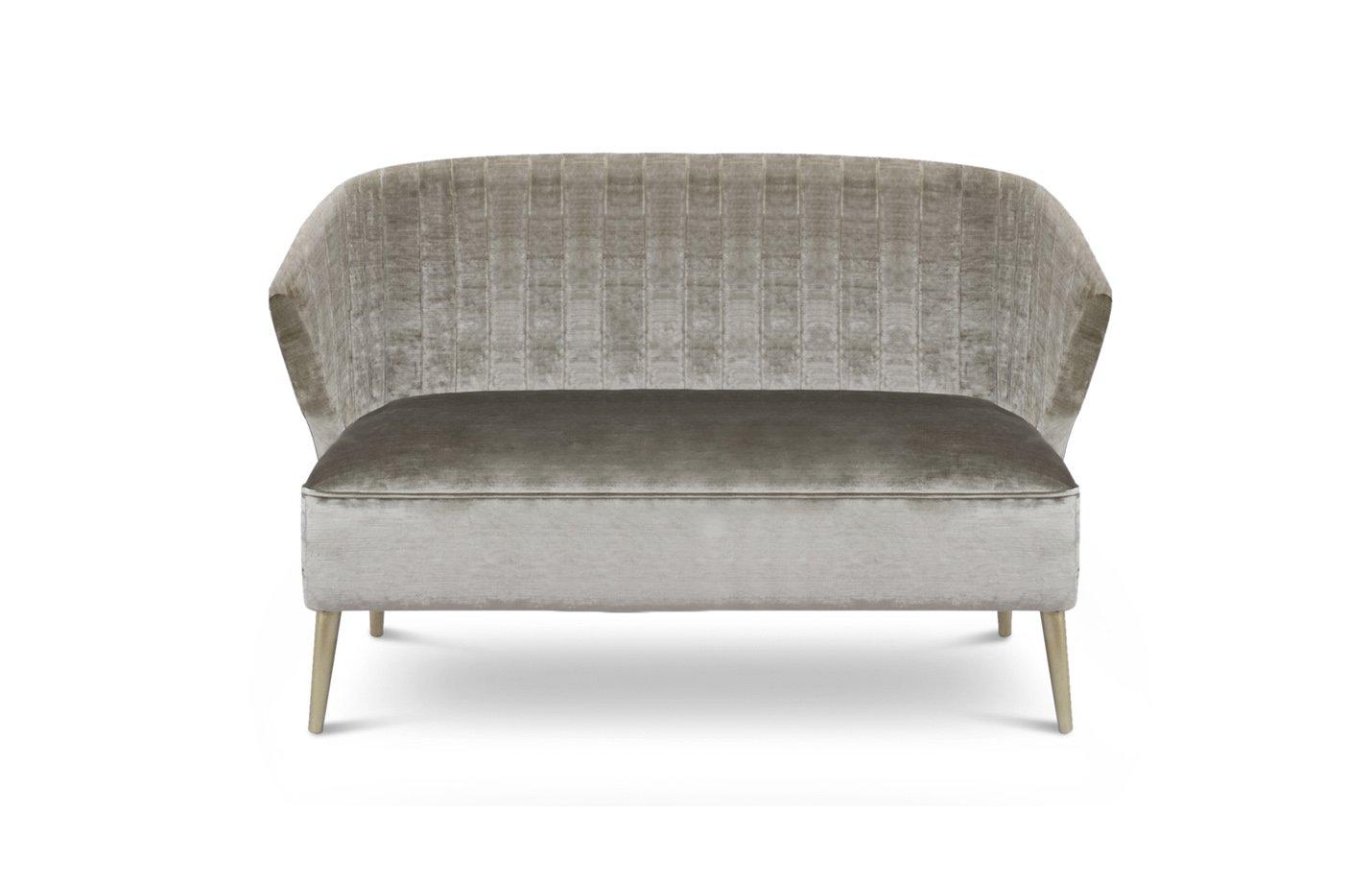 Nuka sofa two seater – light grey